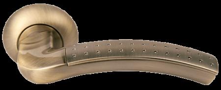 Дверная ручка ПАЛАЦЦО  MH-02P MAB/AB
