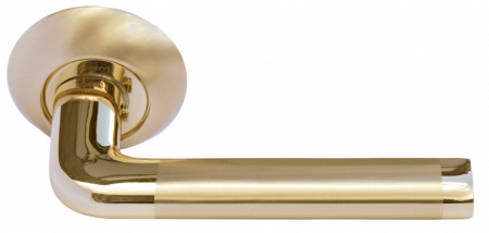 Дверная ручка КОЛОННА MH-03 SG/GP