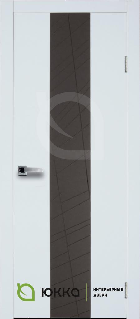 Межкомнатная дверь Стиль 1.1 с накладным стеклом