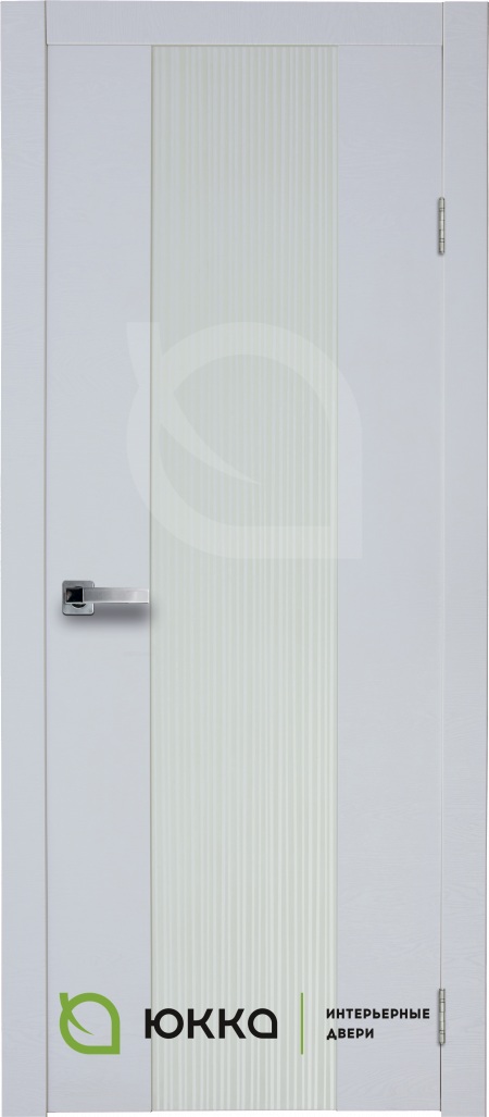 Межкомнатная дверь Стиль 1.1 с накладным зеркалом
