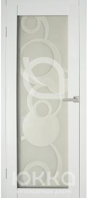 А4 - Белая стекло матовое с рисунком